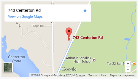 Pittsgrove Senior Center Map