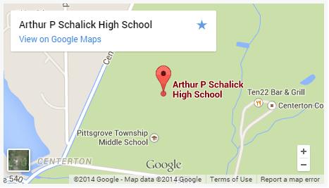 Schalick High School Map